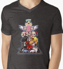 the Binding of Isaac - basement ascent Men's V-Neck T-Shirt