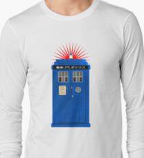 Japanese TARDIS Long Sleeve T-Shirt