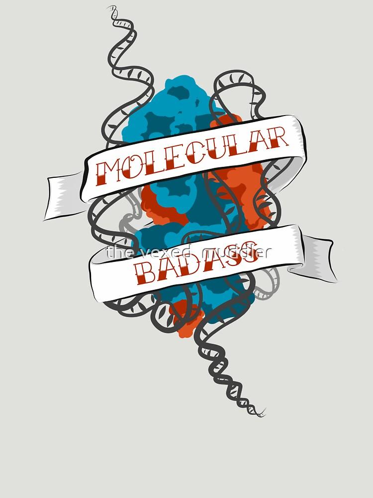 Molecular Badass Tattoo by thevexedmuddler