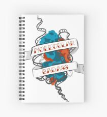 Molecular Badass Tattoo Spiral Notebook