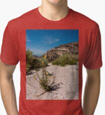 Wildflowers Along Sky Island Scenic Byway to Mt. Lemmon Tri-blend T-Shirt