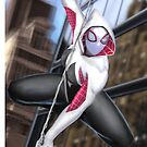 Spider-Gwen by Landon Cassell