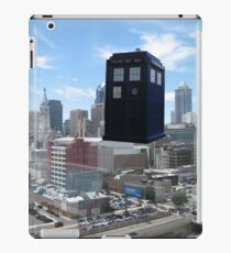 TARDIS Over Philly iPad Case/Skin