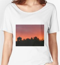 Red Sunset in Arizona Women's Relaxed Fit T-Shirt