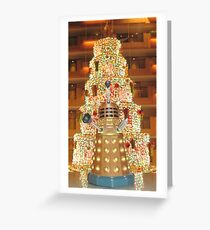 Dalek Christmas Greeting Card