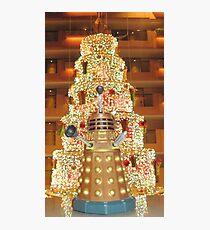 Dalek Christmas Photographic Print