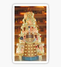Dalek Christmas Sticker