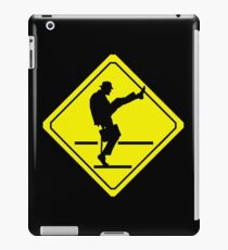 Silly Walks Crossing iPad Case/Skin