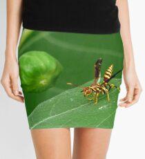 Go ahead - pick the fig Mini Skirt