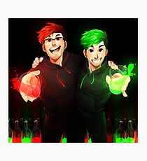 Septiplier - Glow Photographic Print