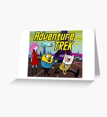 Adventure Trek! Greeting Card