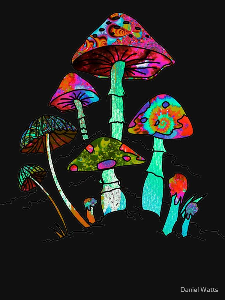 "Garden of Shroomz | ""Field Trip"" Edition by DanJohnDesign"