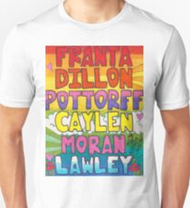 O2L 6/6 FOREVER HAND DRAWN NAMES Unisex T-Shirt
