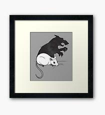 The Strange Case of Dr. Mouse and Mr. Rat Framed Print