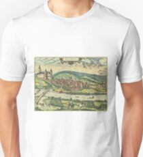 Arnsberg Vintage map.Geography Germany ,city view,building,political,Lithography,historical fashion,geo design,Cartography,Country,Science,history,urban T-Shirt
