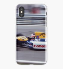 Nigel Mansell, Portugal 1992 iPhone Case/Skin