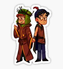 Stan and Kyle Sticker
