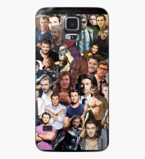 Chris Hemsworth Collage  Case/Skin for Samsung Galaxy