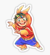All Might Onesies Series - Midoriya Izuku Sticker