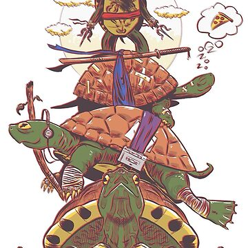 Ordinary Ninja Turtles  by TheMVB