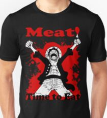Luffy's Time to Eat! Unisex T-Shirt
