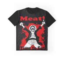 Luffy's Time to Eat! Graphic T-Shirt