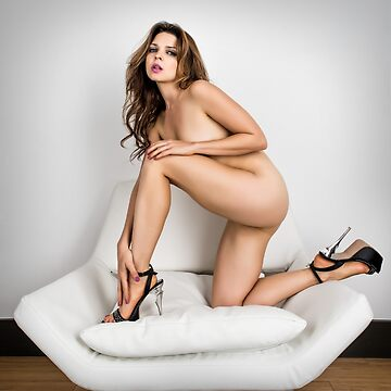Kristy - Implied Nude on Chair by NSPARTS