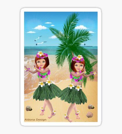 Ha wain Girls (8411  Views) Sticker