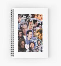 Sebastian Stan Spiral Notebook