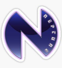 Hyperdimension Neptunia Neptune Logo Sticker