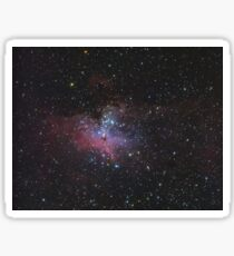 M16 - The Eagle Nebula and The Pillars of Creation Sticker