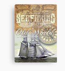 schooner Metal Print