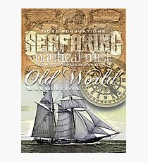 schooner Photographic Print