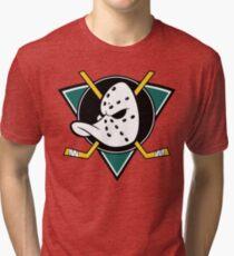 Camiseta de tejido mixto Los poderosos patos