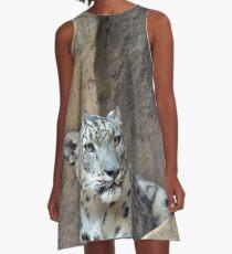 The Snow Leopard A-Line Dress