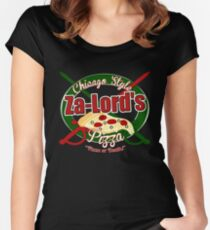 Pizza or Death! Women's Fitted Scoop T-Shirt