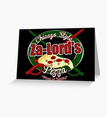 Pizza or Death! Greeting Card