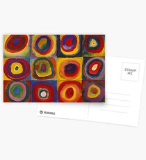 Kandinsky pattern Postcards