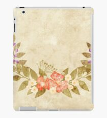 Paper grunge for congratulations iPad Case/Skin