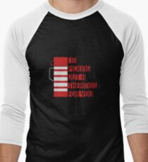 I'm Picking Out a Thermos For You Men's Baseball ¾ T-Shirt