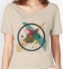 Kandinsky Abstract Painting Women's Relaxed Fit T-Shirt