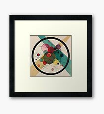 Kandinsky Abstract Painting Framed Print