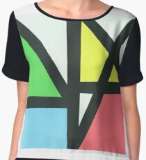 New Order Music Complete Women's Chiffon Top