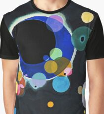 Abstract Kandinsky Painting black and blue Graphic T-Shirt