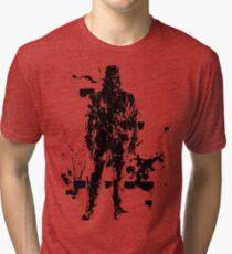 Big Boss MGS3 Tri-blend T-Shirt