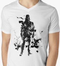 Big Boss MGS3 Men's V-Neck T-Shirt