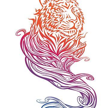 Tiger Spirit by kuzzie