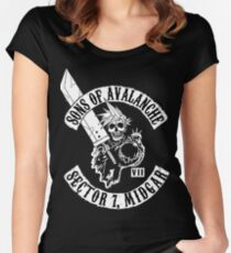 Sons Of Avalanche Women's Fitted Scoop T-Shirt