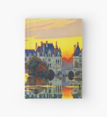 Chenonceaux, French Travel Poster Hardcover Journal