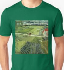 Landscape with Carriages Van Gogh T-Shirt